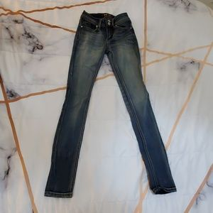 Womens Faded Jeans